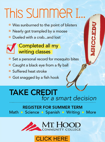 Take Credit for a Smart Decision. Register for Summer Term!